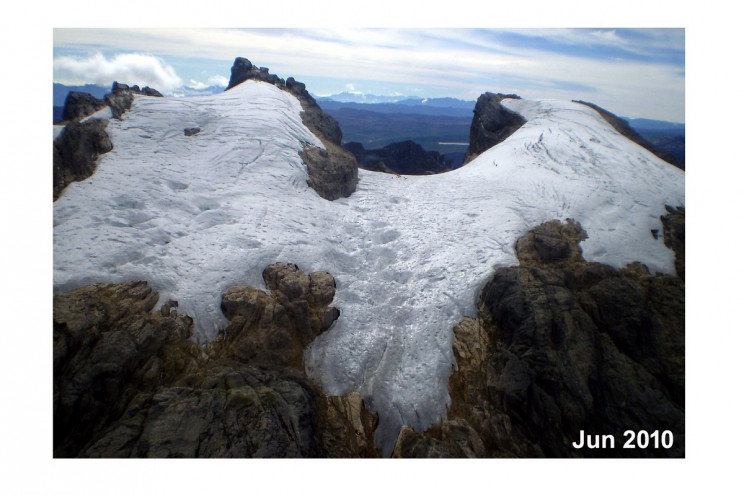 Glaciers in 2010