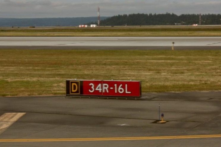A runway's number