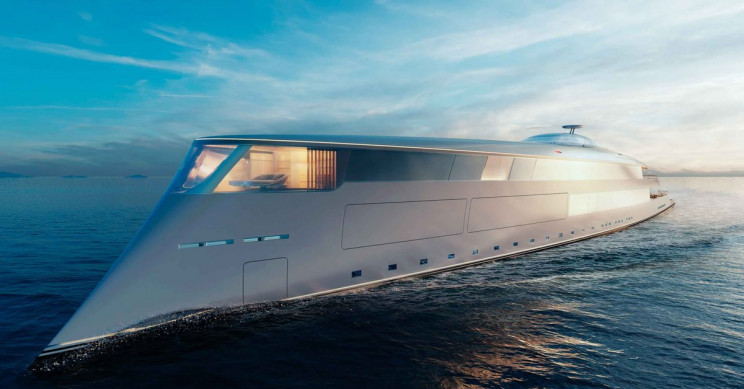 The $644-Million Hydrogen-Powered Superyacht That Bill Gates Did Not Buy
