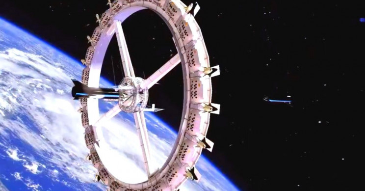 Company of NASA Stars Building Orbital Space Hotel With Artificial Gravity