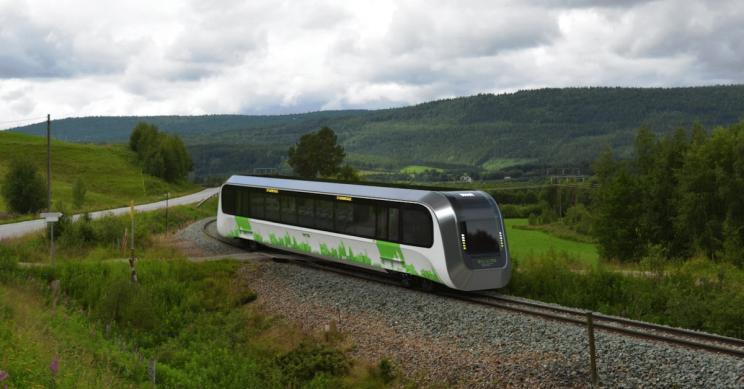 New Sustainable UK Train Runs on Human Waste