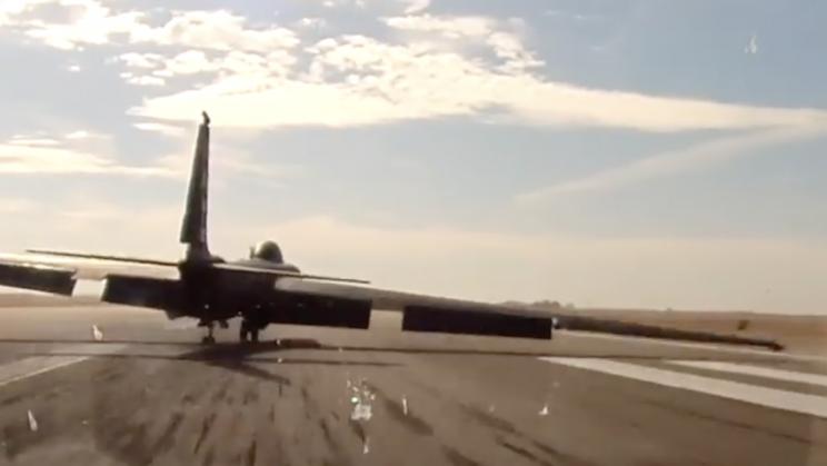 U-2 Video Montage Shows Off 'Controlled Crash' Landings