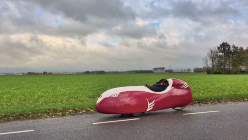 Dutch Company Builds World's Potentially Fastest Velomobile