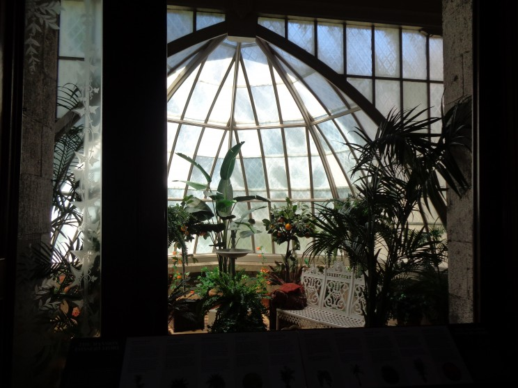 Interior view of conservatory