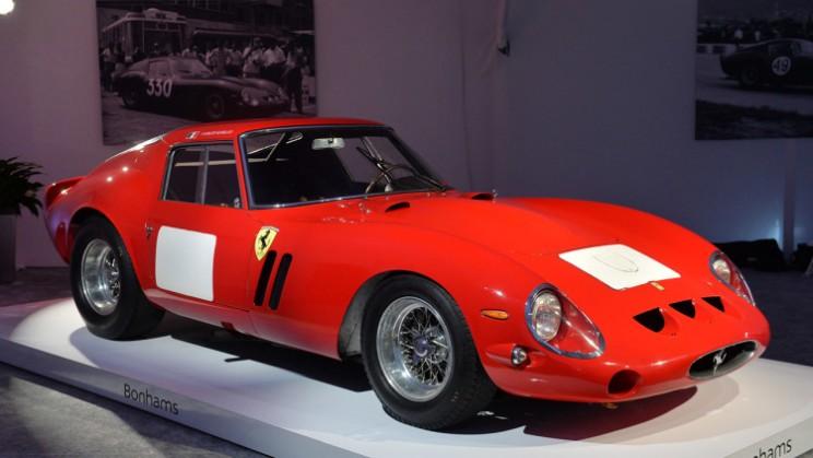 car auction Ferrari 250 GTO