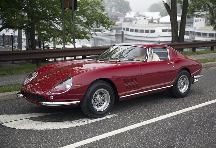 car auction ferrari 275