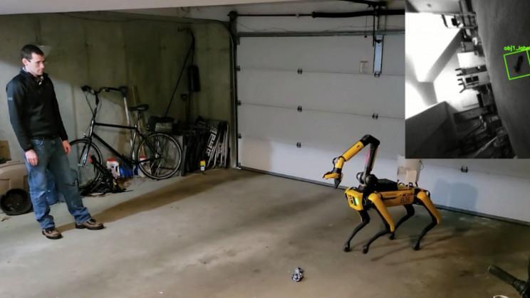 Good Boy! Boston Dynamics' Spot Can Now Play Fetch