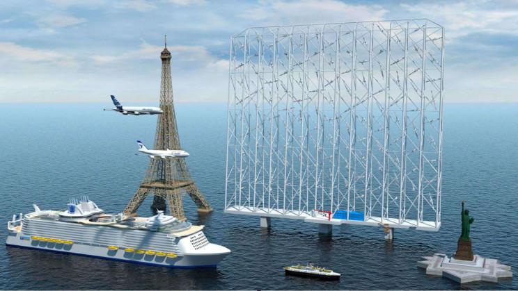 Meet 'Wind Catcher': A 1,000-ft Tall Multi-Rotor Offshore Turbine