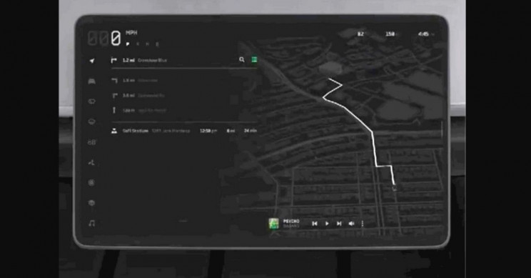 Tesla Cybertruck UI Demo