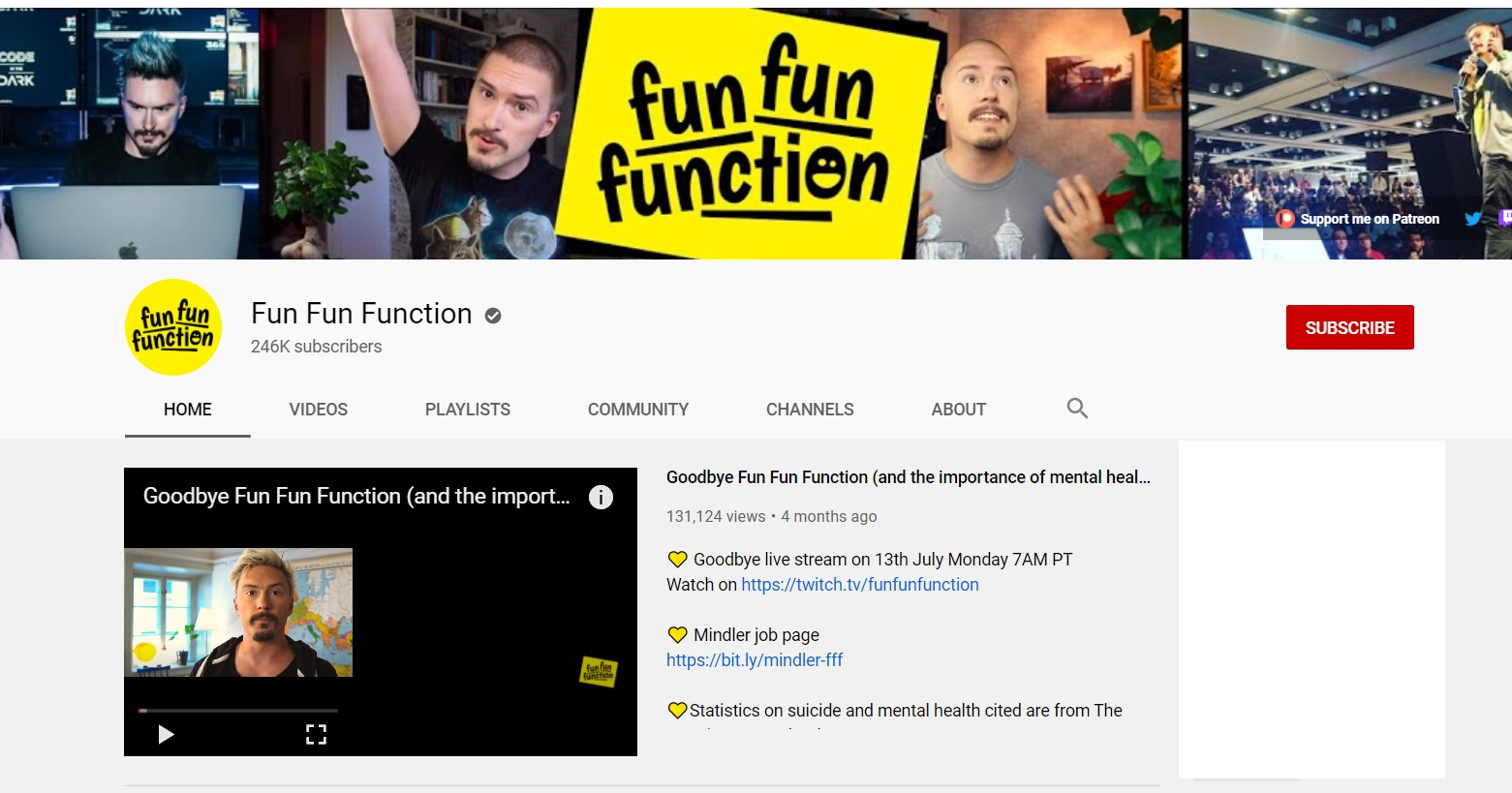 youtube coding funfunfunction