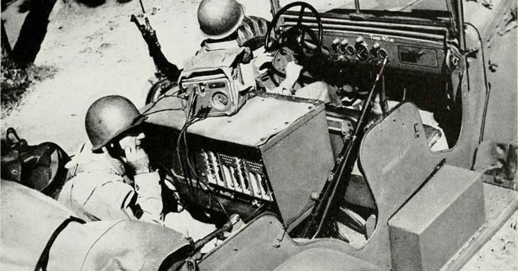 Military Car Phone