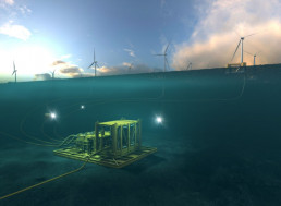 Energy Firm Reveals Scotland's First Underwater Substation for Offshore Wind