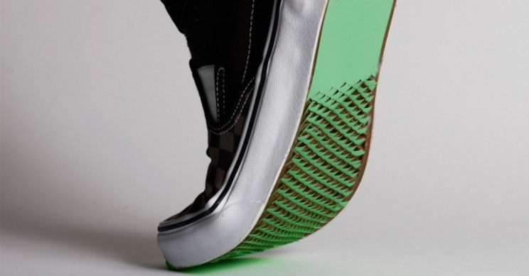 Kirigami-Inspired Shoe Bottom Coatings to Slip-Proof Your Shoes