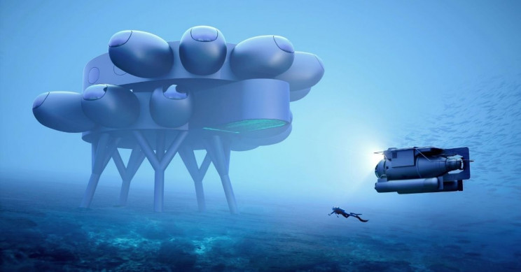 A New Massive Underwater Space Station is In the Making