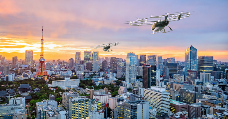 We'll Have Flying Taxis by 2023 Thanks to Volocopter, Japan Airlines