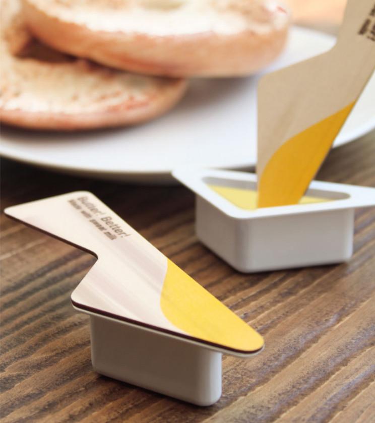 innovative packaging butter lid