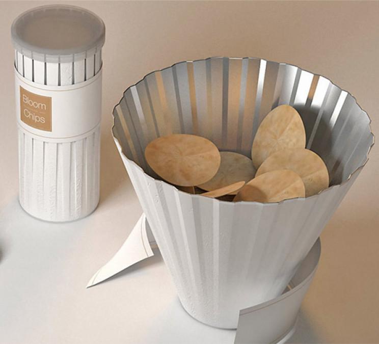 innovative packaging pringles tube