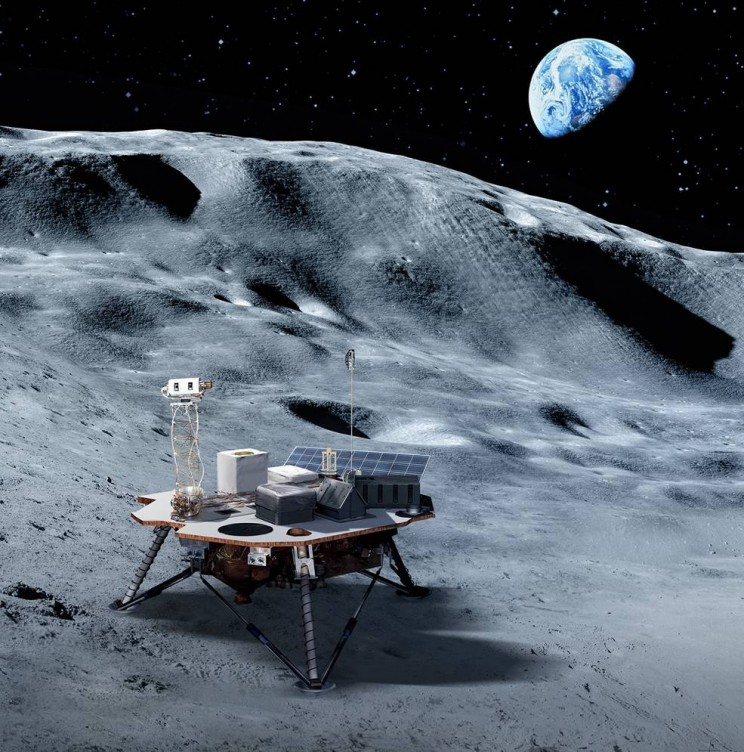 NASA Announces First Commercial Moon Landing Services