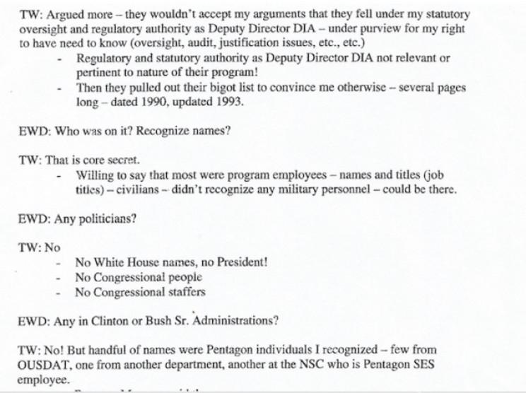Excerpt from Davis notes