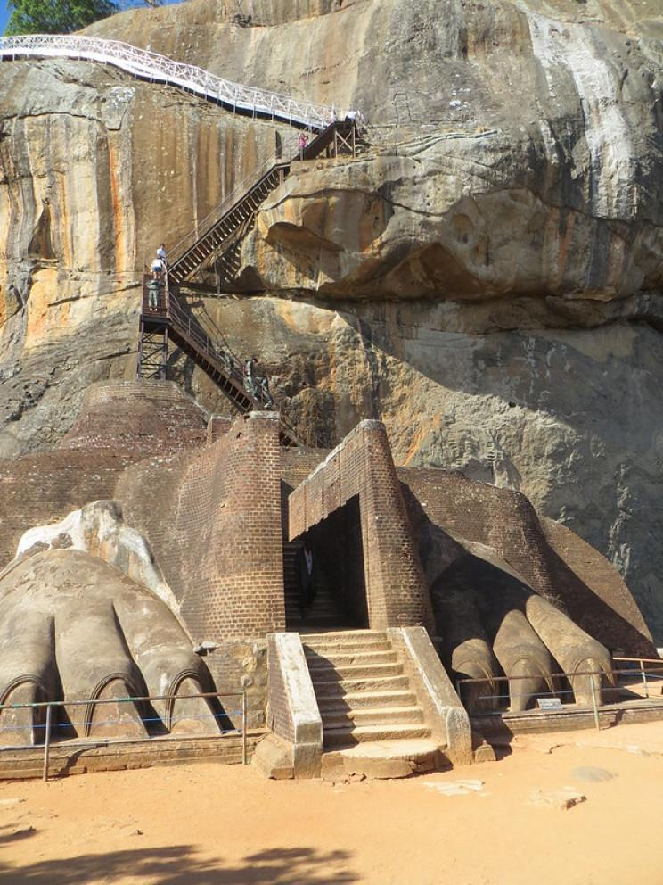 lost and found cities Sigiriya