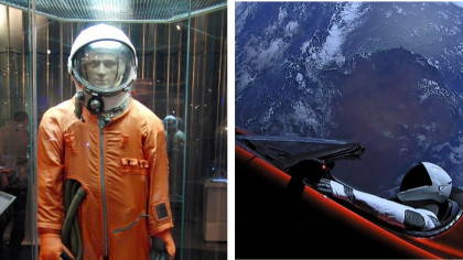 The Evolution of the Spacesuit: From the Project Mercury Suit to the Aouda.X Human-Machine Interface