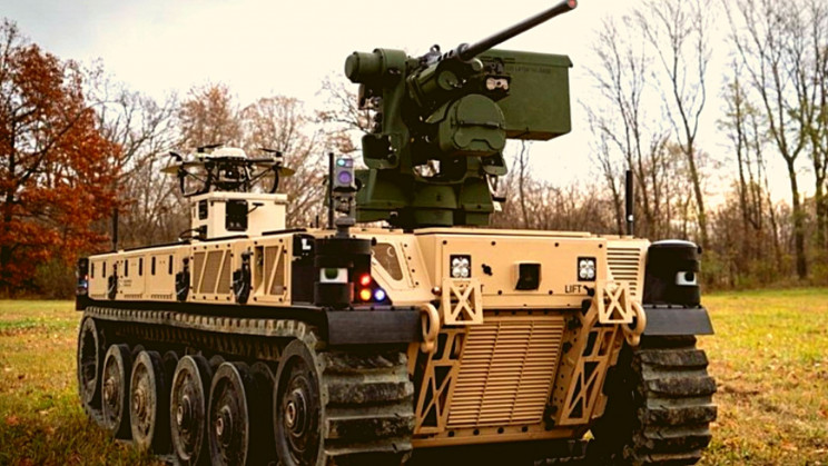 Meet the Robotic Combat Vehicles That Are Like a 'Ghost Army'