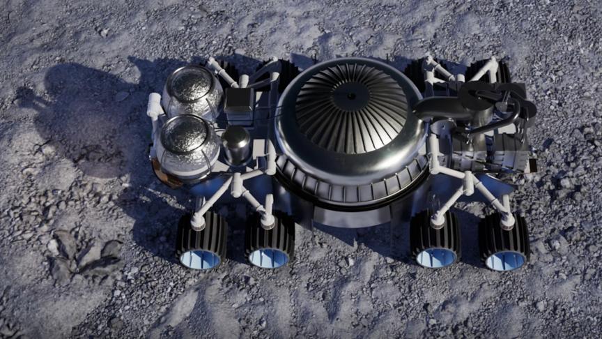 New Rocket Mining System Blasts Through Moon Rocks to Reach Ice