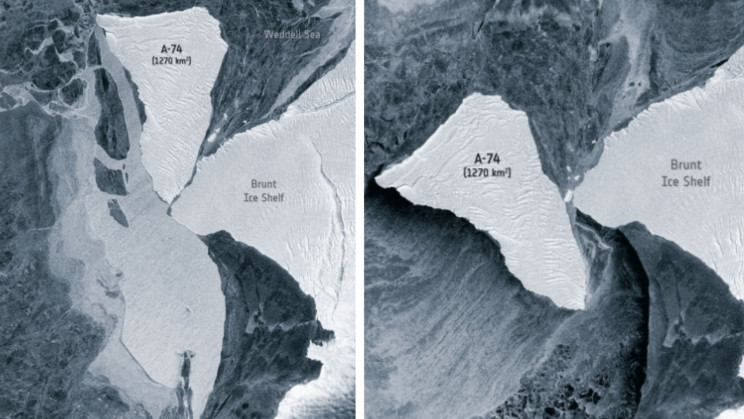 An Iceberg the Size of LA Barely Missed Major Collision In Antarctica