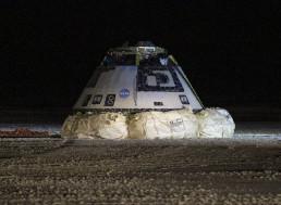 """NASA Celebrates Boeing Starliner's """"Bullseye Landing"""""""