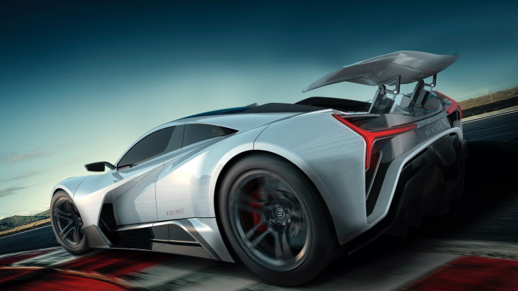 Elation Reveals 'Freedom', a 1,427 HP Jet-Inspired Electric Hypercar