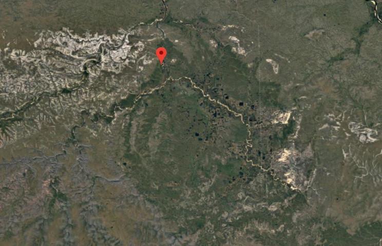 earth meteorite impact siberia