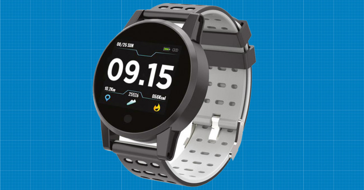 This Waterproof Watch Is a Distance Tracker, Heart Rate Monitor, Alarm Reminder and More