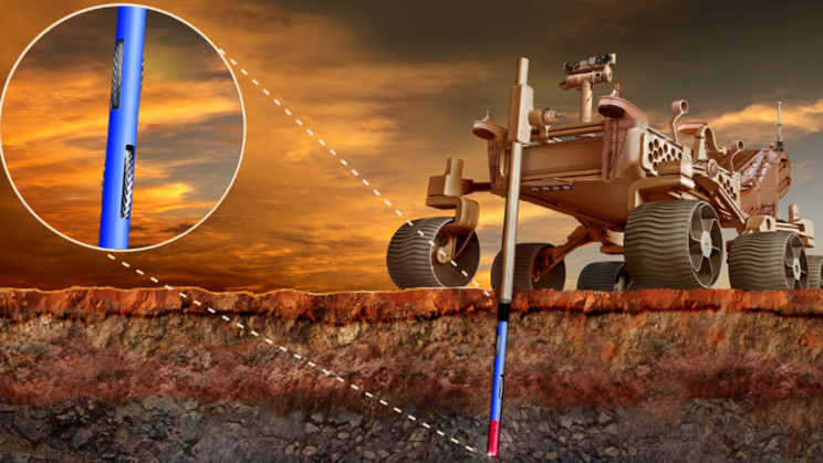 Students Propose Using 'Borebots' to Drill Mars' Polar Ice