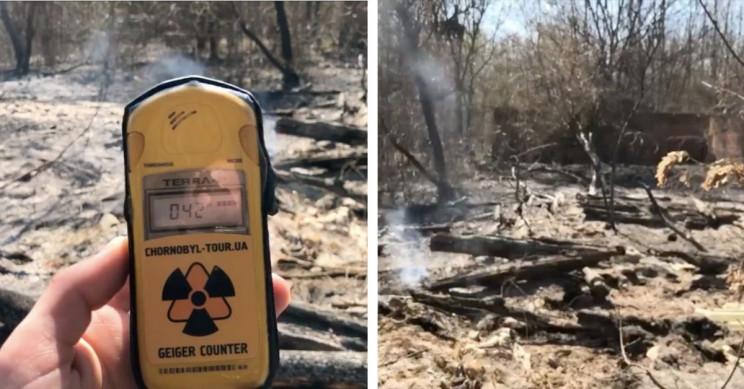Wildfires in Ukraine Edge Nearer to Chernobyl, Posing Potential Radiation Risks