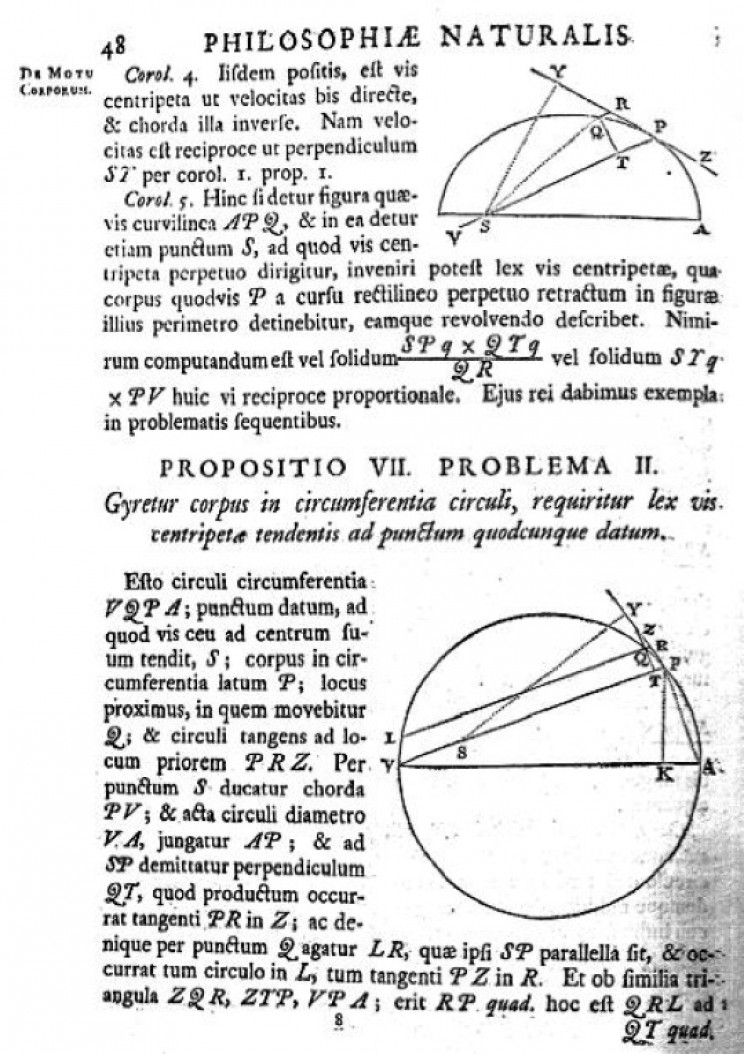 Page from the Principia Mathematica