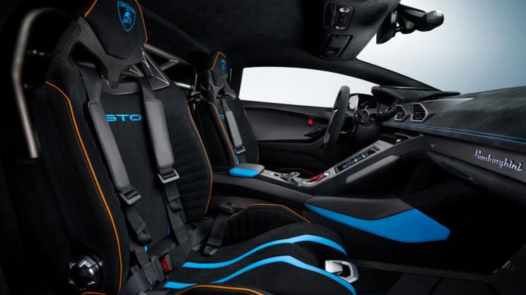 Lamborghini Huracán Interior Passenger Seat
