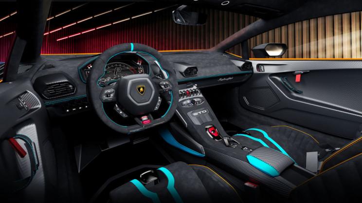 Lamborghini Huracán Interior Steering Wheel