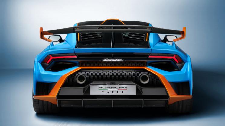 Lamborghini Huracán Rear Fender