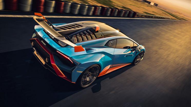 Lamborghini Huracán Rear Wing