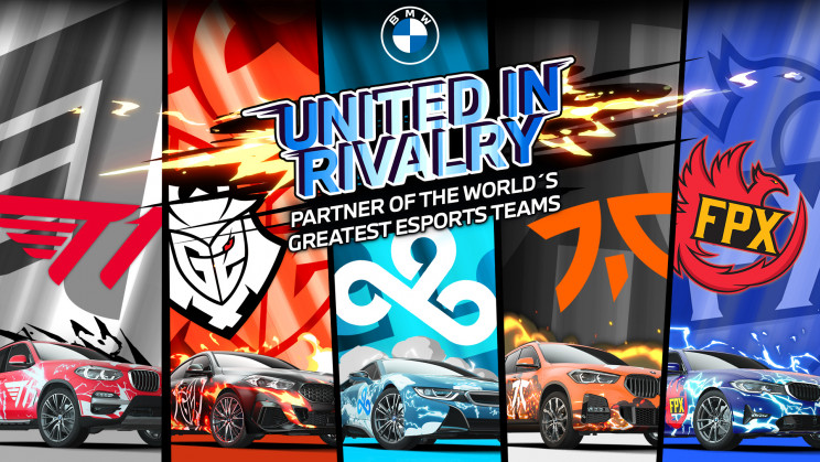 BMW Announces Partnership With Five Global Esports Organizations