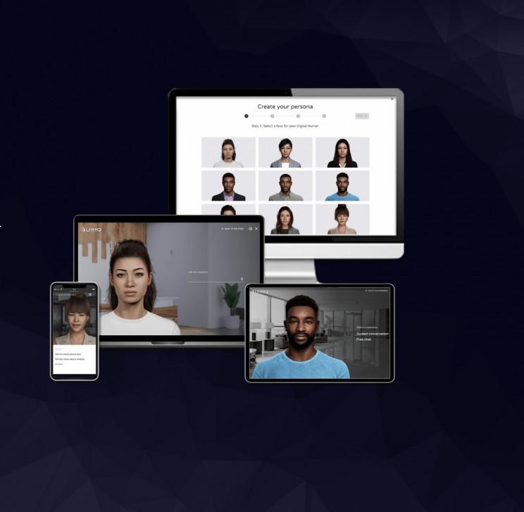 IBM, Amazon, DXC, Deloitte, Accenture, UneeQ Launch Digital Human Partnership