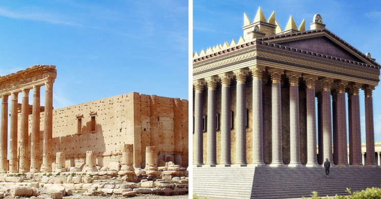 Disappearing Unesco World Heritage Sites Resurrected Through Animated Gifs