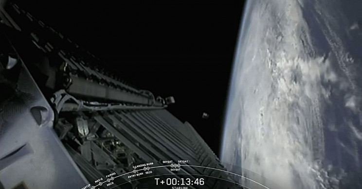 SpaceX SkySat Satellites Deployed