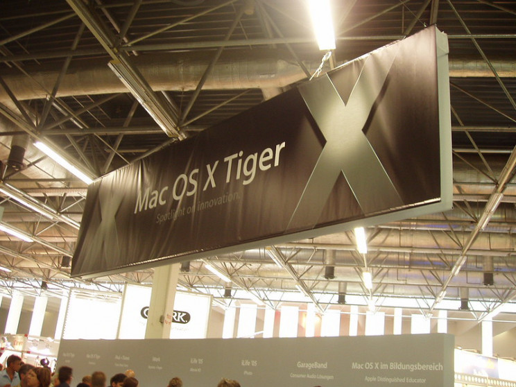 lines of code macos tiger