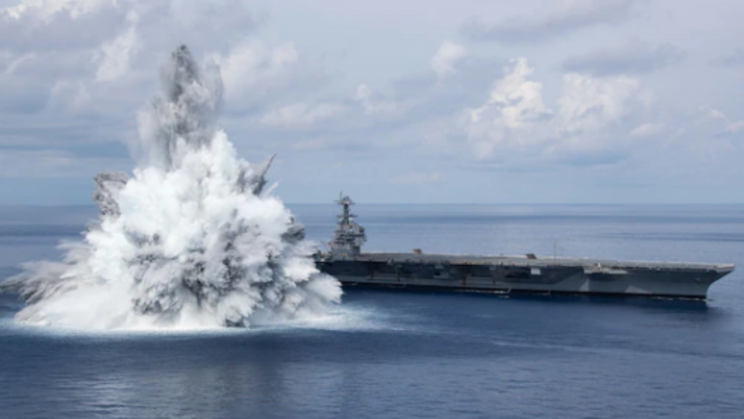 US Navy Completes Full Ship Shock Trials of USS Gerald R. Ford
