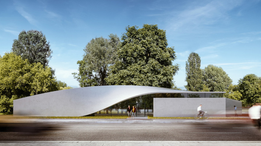 The World's First Carbon Concrete Building Is Under Construction