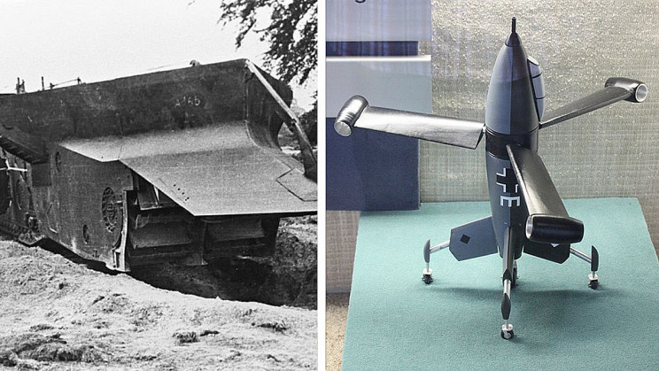 17 of the Most Bizarre War Machines of All Time