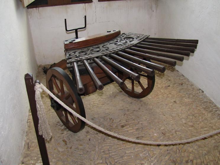 bizarre weapons of war ribauld