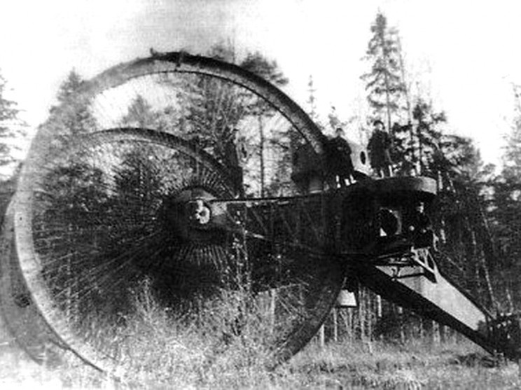 bizarre weapons of war tsar tank