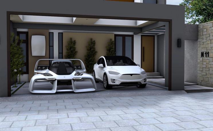 A Supercar Designer Is Building a 250-Mph Flying Hypercar